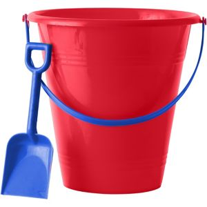 Patriotic Pail with Shovel