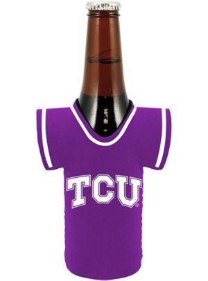 TCU Horned Frogs Jersey Bottle Coozie