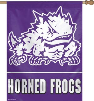 TCU Horned Frogs Banner Flag