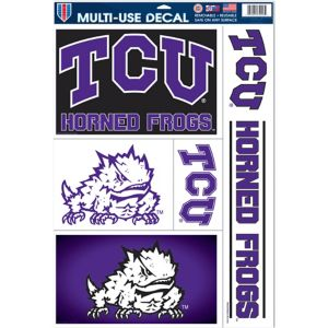 TCU Horned Frogs Decals 5ct