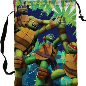 Teenage Mutant Ninja Turtles Drawstring Trick-or-Treat Bag