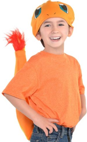 Child Charmander Costume Accessory Kit 2pc - Pokemon