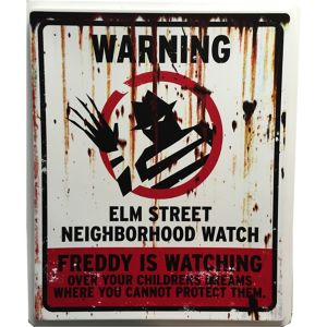 Elm Street Neighborhood Watch Sign - A Nightmare on Elm Street