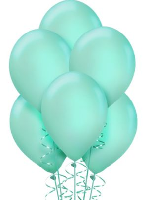 Robin's Egg Blue Balloons 72ct