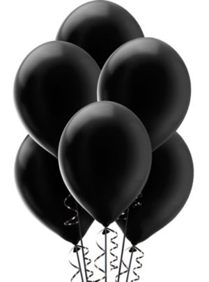 Black Pearl Balloons 15ct