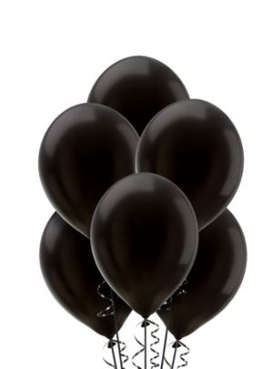Black Balloons 20ct