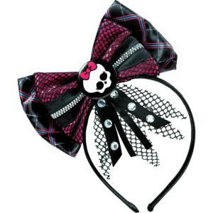 Monster High Bow Headband Deluxe