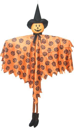 Large Hanging Friendly Jack-o'-Lantern