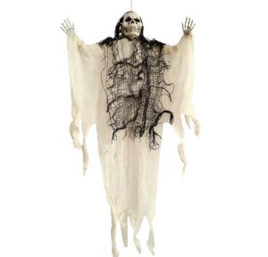 Hanging White Grim Reaper
