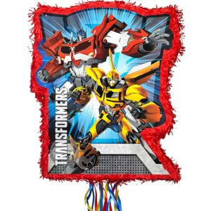 Pull String Red Transformers Pinata