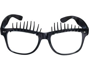 Black Eyelash Glasses