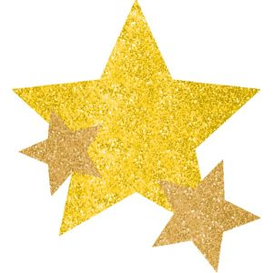 Yellow Star Body Jewelry