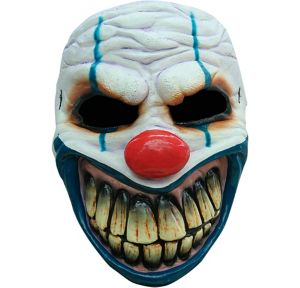 Toothy Evil Clown Mask