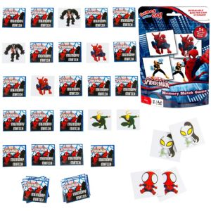 Spider-Man Memory Match Game Bag