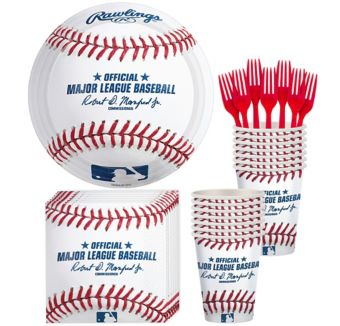 Rawlings Baseball Basic Party Kit for 8 Guests