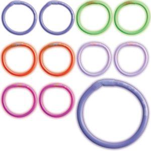 Multicolor Glow Bracelets 80ct