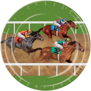 Horse Racing Lunch Plates 8ct