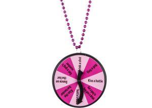 Bachelorette Party Game Dare Necklace - Team Bride