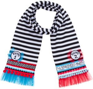 Thing 1 & Thing 2 Scarf - The Cat in the Hat
