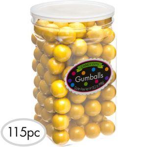 Gold Gumballs 115pc