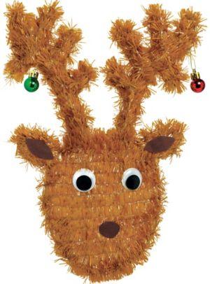 Hanging Tinsel Reindeer