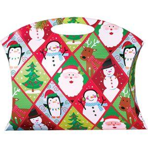 Whimsical Christmas Pillow Box Bag