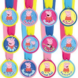 Peppa Pig Award Medals 12ct