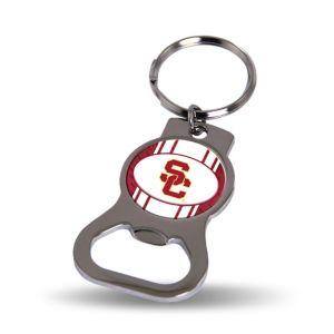 USC Trojans Bottle Opener Keychain