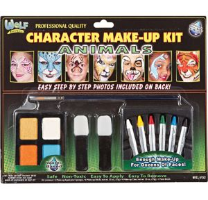 Animal Character Face Paint Makeup Kit 14pc