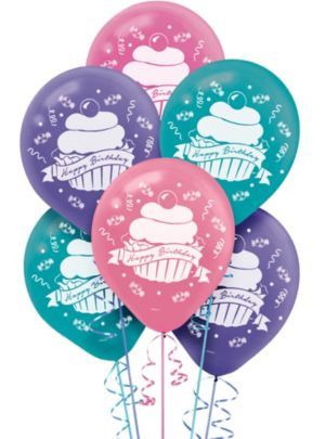 Birthday Sweets Balloons 15ct