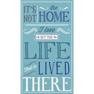 Loving Life Guest Towels 16ct