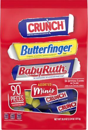 Nestle Chocolate Assorted Minis 100ct