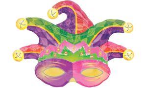 Mardi Gras Balloon - Jester Mask