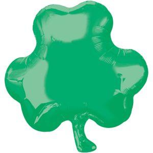 St. Patrick's Day Balloon - Green Shamrock