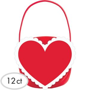 Heart Candy Buckets 12ct