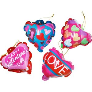 Valentine's Day Self-Inflating Balloons 4ct