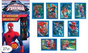 Spider-Man Lenticular Valentine Exchange Cards 27ct