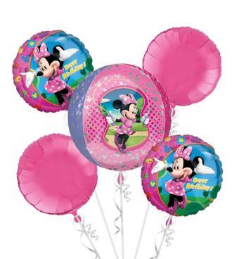 Minnie Mouse Balloon Bouquet 5pc - Orbz