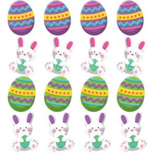 3D Easter Bunny Erasers 12ct