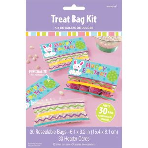 Easter Treat Bags Kit For 30