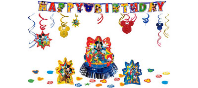 Mickey Mouse Party Decorations Kit