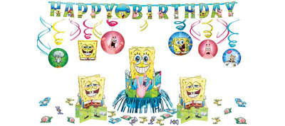 Spongebob Party Decorations Kit