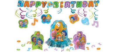 Bubble Guppies Decorating Kit