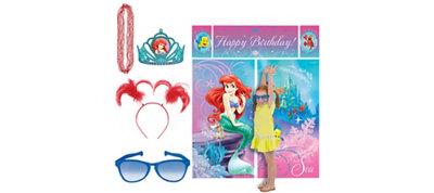 Little Mermaid Photo Booth Kit