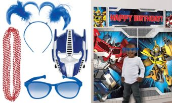 Transformers Photo Booth Kit