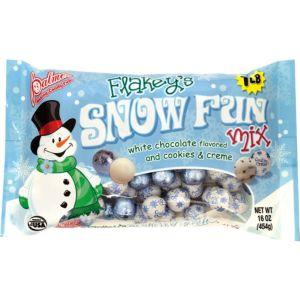 Flakey's Snow Fun White Chocolate Balls Mix 100ct