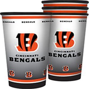 Cincinnati Bengals Tumblers 4ct