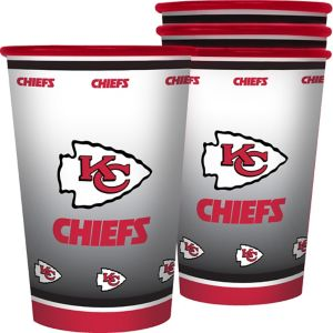 Kansas City Chiefs Tumblers 4ct