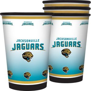 Jacksonville Jaguars Tumblers 4ct