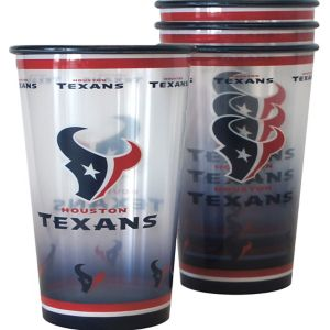 Houston Texans Tumblers 4ct